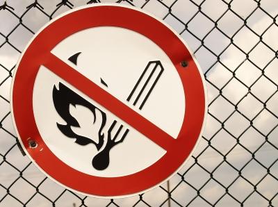 Schild-kein Feuer