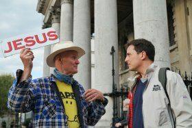 Prediger auf der Strasse