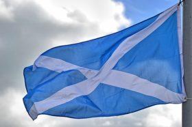 Schottlandfahne