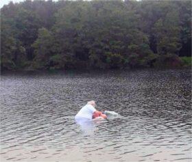 Taufe im See