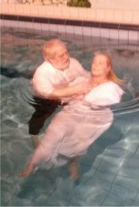 Taufe im Spaa